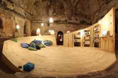 Abandoned Turkish Bath Transformed Into Pop-Up LIbrary