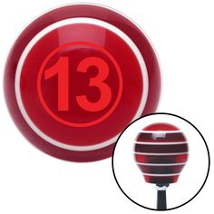 Red Ball 13 Red Stripe Shift Knob with M16 x 15 Insert - Give your interior the ultimate look. American Shifter's Elite(TM) series shift knobs are made from the highest quality components resulting in a superior feel on every shift. Each shift knob is designed and customized in the USA by skilled shift knob artisans who have a trained eye on every detail. American Shifters shift knobs offers an exclusive aluminum threaded insert designed to be screwed onto your shift arm. You should avoid…