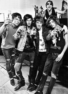 Asking Alexandria...minus Danny plus guest singers (from I See Stars, Attila and more)