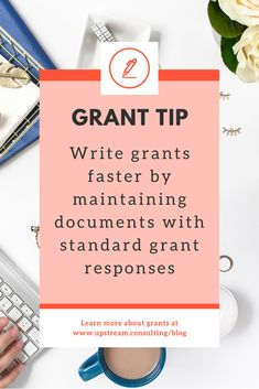 You can reuse a lot of responses when you're writing grants. This practice will save you time and reduce your stress. Click through to read 6 other strategies to reduce grant writing stress. Grant Proposal Writing, Grant Writing, Self Development, Personal Development, Bettering Myself, Non Profit, New Job, Money Tips, Reuse