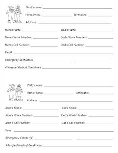 1000 images about preschool forms on children