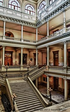 The Georgia Capitol Museum seeks to preserve and interpret the history of the Georgia Capitol building as well as the events that have taken place within its walls.
