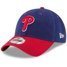 Men s Philadelphia Phillies New Era Royal Red Alternate Replica Core  Classic 9TWENTY Adjustable Hat b0257e4f9771