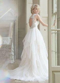 adorable vintage wedding dress