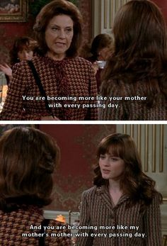Gilmore Girls - Kelly Bishop and Alexis Bledel