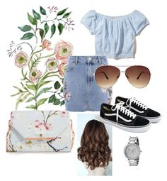 """"""":)"""" by anikovarga on Polyvore featuring Hollister Co., Topshop, Ted Baker, Ashley Stewart, J.Crew and Michael Kors"""