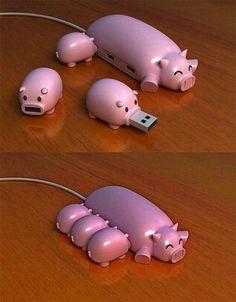 Chanchitos USB ! Lo máx !
