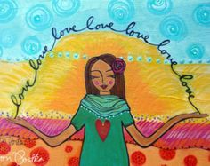 Greeting Card  : Self Love