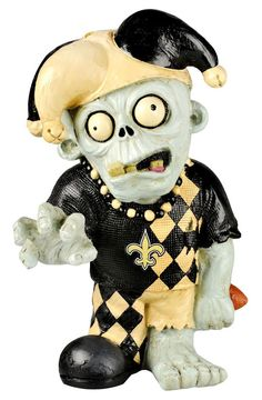 New Orleans Saints Thematic Zombie Figurine faa4fe1d8