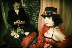 """Our Burlesque friends in Poland did a great work with our """"Grüne Fee"""" Absinthe Collection. Burlesque, Poland, Friends, Collection, Amigos, Boyfriends, Ignition Coil, True Friends"""