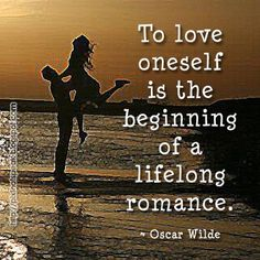Finding love begins by loving yourself...