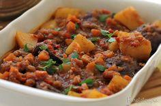 Em casa eu faço muita sopa de legumes com carne e para essa finalidade gosto de usar músculo. Só que da última vez que comprei essa carne, achei tão linda que decidi fazer uma outra receita (fiquei…