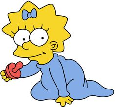 If the Simpsons actually aged, Maggie would be 24.