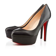 b56aaea5fe48 The most popular sales 2014 of Christian Louboutin shoes. Board owner.  Follow. Christian Louboutin Bianca 120mm Leather Black Black Kids