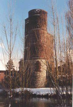 Graventoren, the ruine of the castle where Mercator was prisoned.  Rupelmonde, East Flandres, Belgium