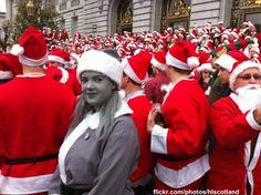 Desaturated Santa.