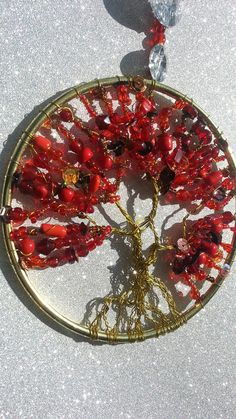 Check out this item in my Etsy shop https://www.etsy.com/listing/237650084/tree-of-life-red-0003