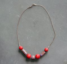 necklace-millefiori-coral