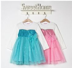 2014 Frozen Girl Elsa & Anna Princess children dresses 2-8ys baby clothing girls party lace dress frozen · Sweet Little Princess Boutique · Online Store Powered by Storenvy