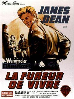 JAMES DEAN - LA FUREUR DE VIVRE - (NICHOLAS RAY 1955)