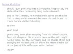 I'm cry guys I'm cry I'm so cry <-------- I'm not even in this fandom and that's sad! Secondhand fandom yet again!