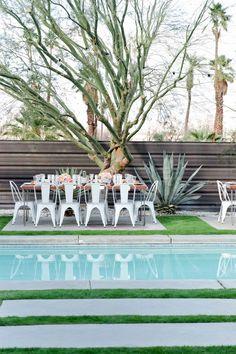 Palm Springs wedding at Casa Verona | Photo by  WILLHOUSE | 100 Layer Cake