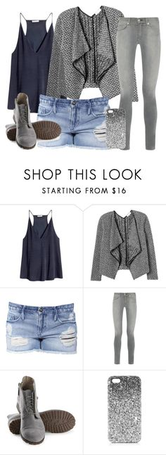 """""""Untitled #493"""" by sara-bitch1 ❤ liked on Polyvore featuring H&M, Rebecca Taylor, Black Orchid, rag & bone, Olsen and Topshop"""