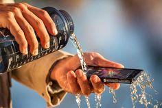 #waterproof phone #Sony Xperia Z1