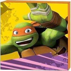 Nickelodeon Teenage Mutant Ninja Turtles Michelangelo Mdf Wall Art