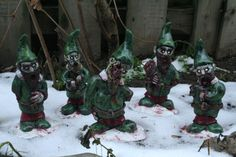 Hey, I found this really awesome Etsy listing at https://www.etsy.com/listing/171386466/the-infected-elves-zombie-gnome