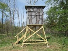Click this image to show the full-size version. Deer Shooting, Shooting House, Pig Hunting, Hunting Cabin, Deer Hunting Blinds, Deer Blinds, Tower Deer Stands, Tower Stand, Deer Blind Plans