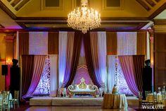 Stunning backdrop made of several fabrics from this Royal Ambassador #Toronto wedding   Photography by: MPSG Weddings   WedLuxe Magazine   #luxury #wedding #weddinginspiration