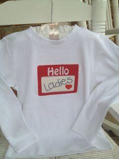 Valentine Shirt  Boy Valentine Shirt Hello by DarlingLittleBowShop, $24.00