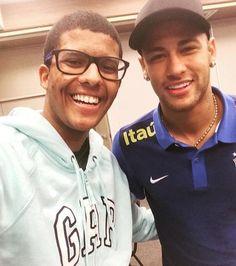 Ney no hotel da Seleção no Rio 💚⚽💛 #neymarjr #neymar #selecaobrasileira #rio2016🇧🇷
