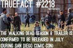 """If I Posted It.. Its True. (@twdtruefacts_) on Instagram: """"The Walking Dead Season 8 Trailer, July 2017. #thewalkingdead #walkingdead #twd"""""""