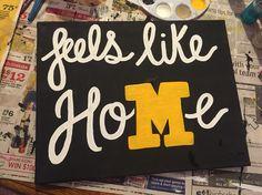 Mizzou / University of Missouri  DIY canvas; feels like home