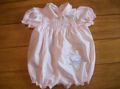 Vintage Infant Girl  Boutiques Pink Carriage Buggy by LittleMarin,