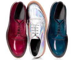Psicodelía en la colección de calzado de Lanvin Primavera-Verano 2013