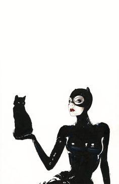 Catwomen by *menton3 on deviantART