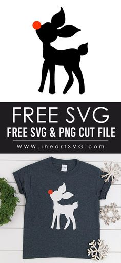 Free SVG Cut File for Cricut or Silhouette Cameo Cricut Ideas, Cricut Tutorials, Cricut Vinyl, Svg Files For Cricut, Cricut Craft, Vinyl Decals, Christmas Svg, Christmas Projects, Cricut Christmas Ideas