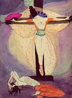 Jeanne Mammen, Woman at the Cross, 1908