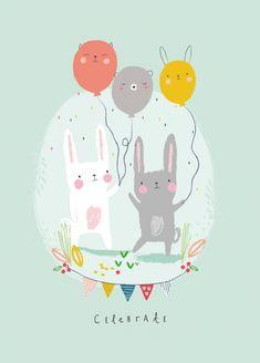 Aless Baylis 'Kaart Celebrate'