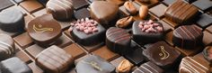 Artisan chocolates from Espelette, in the French Pyrenees. Yummy.
