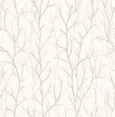 Union Rustic Hollington Deer Park Twigs L x W Metallic Wallpaper Roll Color: Metallic Silver/White Metallic Wallpaper, Embossed Wallpaper, Brick Wallpaper, Wallpaper Panels, White Wallpaper, Wallpaper Roll, Pattern Wallpaper, Apple Wallpaper, Room Wallpaper
