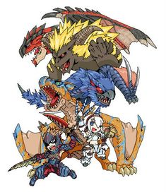 its what monster hunter is made of from mhdude - hosted by Neoseeker