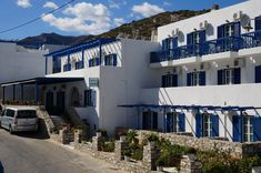 Adonis Hotel Grounds in Apollon Village of Naxos Island! Greece, Sea, Island, Vacation, Mansions, Architecture, House Styles, Building, Travel