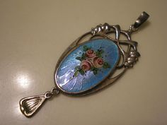 Hey, I found this really awesome Etsy listing at https://www.etsy.com/listing/117793619/vintage-antique-sterling-silver-enamel