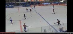 Incredible goal from a European hockey league