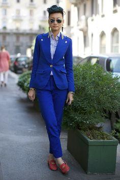 Real Style: Milan Men's Spring 2014 Fashion Week