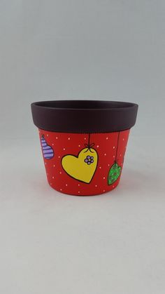 Flower Pot Art, Clay Flower Pots, Terracotta Flower Pots, Flower Pot Crafts, Clay Pots, Paint Garden Pots, Painted Plant Pots, Painted Flower Pots, Clay Pot Projects